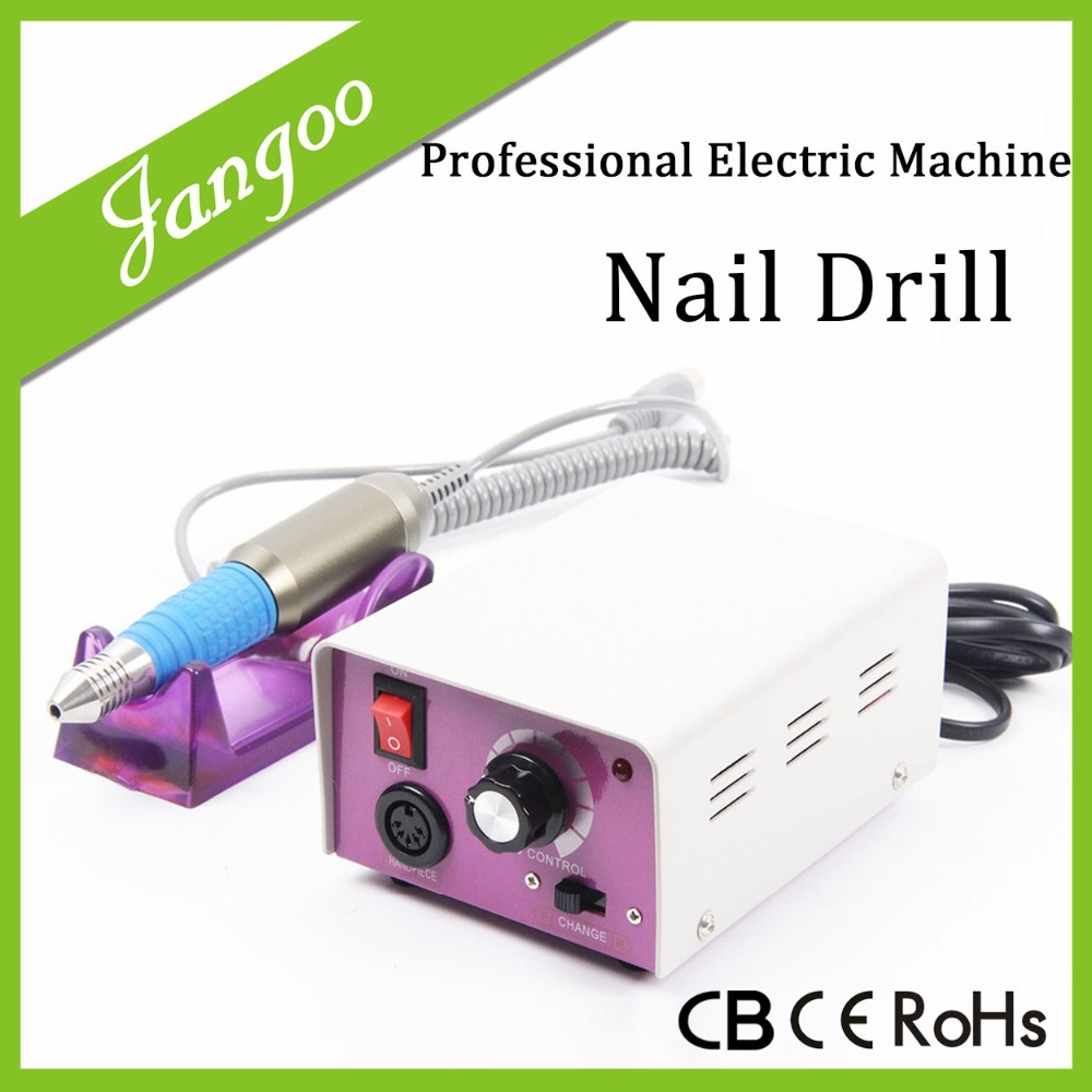 Profrssional Nail Tools Pedicure Mil Tools Pedicure Machine Polish Electric Nail Drill File Machine To Manicure(China (Mainland))