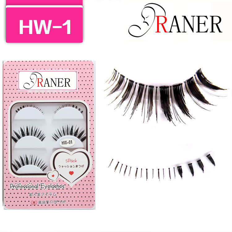 --make accessories fake/false eyelashes hand made eyelash mixed packaging box HW-1 - RANER Eyelashes Store store