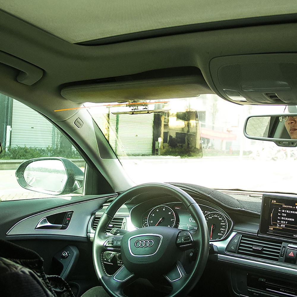 Hd солнцезащитный козырек авто анти-ослепительно выпученными день / ночь версия зеркала автомобиля четкое представление ослепительная стеклянные очки
