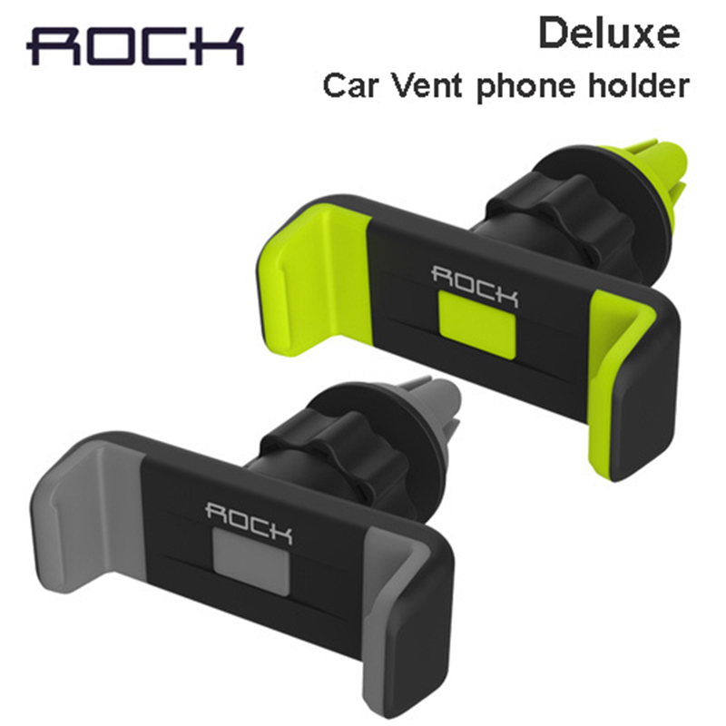 Luxury Car Phone Holder Air Vent Mount cellphone Stand GPS Bracket 360 Rotate adjustable holder for under 6'' phones(China (Mainland))