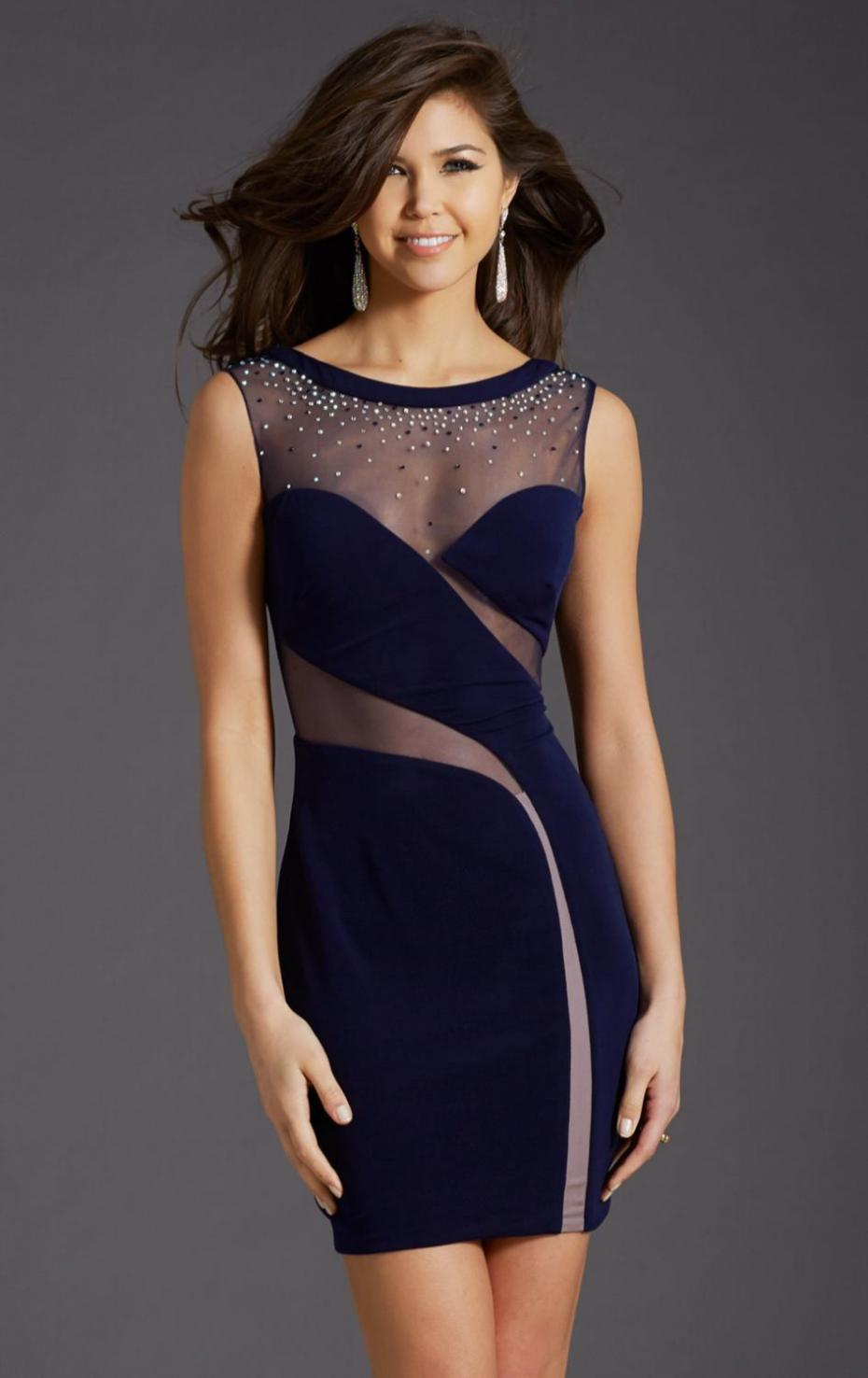 Tight Blue Homecoming Dresses  Dress images