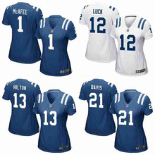 100% Stitiched indianapolis colts Pat McAfee Andrew Luck T.Y. Hilton josh ROBINSON For women,camouflage(China (Mainland))