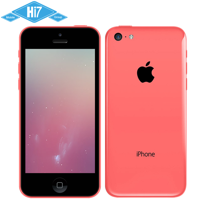 Apple iPhone 5C Phone Dual Core iOS 7 1G RAM 16G ROM 4.0 Inches 8MP Camera WIFI GPS 4G Cell Phone Free Shipping(China (Mainland))