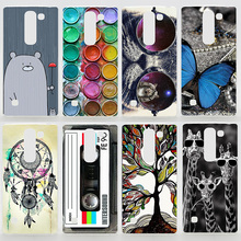 Case For LG Spirit 4G LTE H440N H422 H420 Leon H324 Magna H502 Colorful Printing Drawing Plastic Phone Cover For LG Spirit