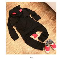 Special offer 2016 new suit for children Little Devil three wings sweatshirt children s sport suit