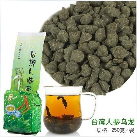 250g Free Shipping Famous Health Care Tea Taiwan Dong ding Ginseng Oolong Tea Ginseng Oolong ginseng tea(China (Mainland))
