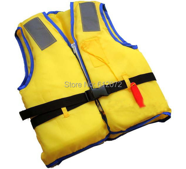 Hot sale children life vest kids reflective safety vest Hi Viz rescue vest for 3-12 years old kids safety waistcoat with whistle(China (Mainland))