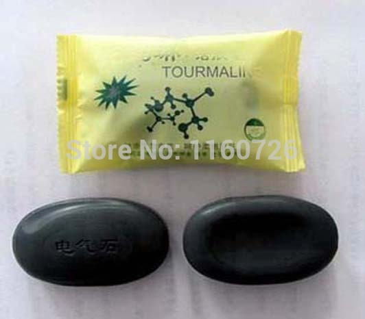 Tourmaline Soap Special Offer/Personal Care Soap/Face & Body Beauty Healthy Care/Free Shipping 2015 New 8pcs/lots 50g(China (Mainland))