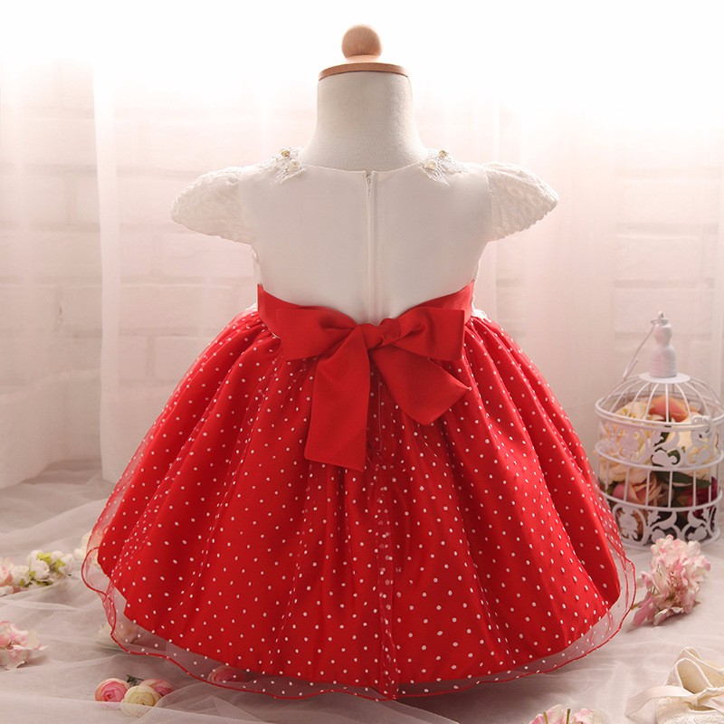 Baby Girls Dress 2016 New Fashion Kids Princess Birthday Party Tulle Wedding Dresses Christmas Dress Newborn Infant Clothes 0-2Y-10