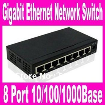 TH-1008G 8 Port 10/100/1000Base Gigabit Ethernet Network Switch high performance Smart Gigabit Switch 8 Port Switch FreeShipping