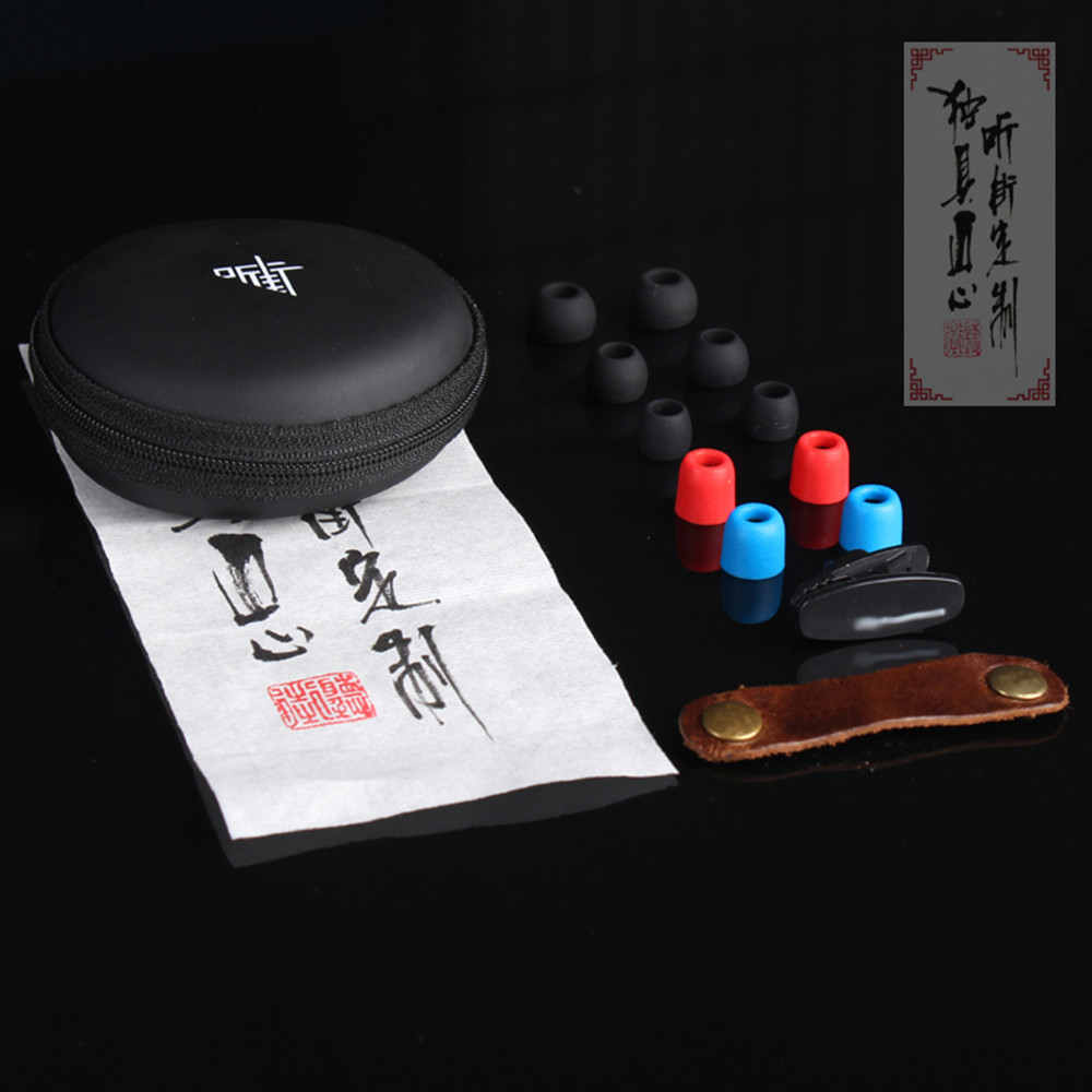 Hot FENGRU R5 Hand-Made 1DD +1BA Drive Unit Hybird Technology earphone HiFi earpiece Units Monitor earphone DIY Bass Earphones