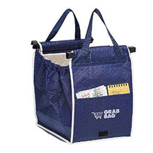 As Seen On TV Grab Bag Foldable Tote Eco-friendly Reusable Large Trolley Supermarket Shopping Bags(China (Mainland))