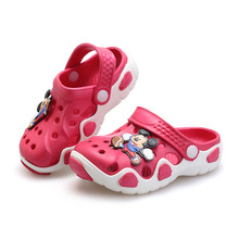 2016 Summer Girls Boys Beach Sandals Kids Children Shoes For Girls Boys Non-Slip Sandals Infant Kids Children Shoes