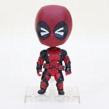 10 centímetros Edição Q Homem De Ferro Nendoroid figura The Avengers Super hero Deadpool Spiderman hero Flash Justice League Batman Figura brinquedo(China)