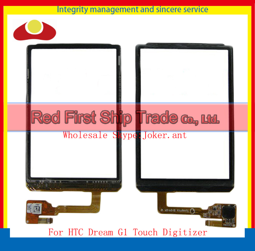 "High Quality 3.2"" For HTC Dream G1 Touch Screen Digitizer Sensor Glass Lens Panel Black+Tracking Number(China (Mainland))"
