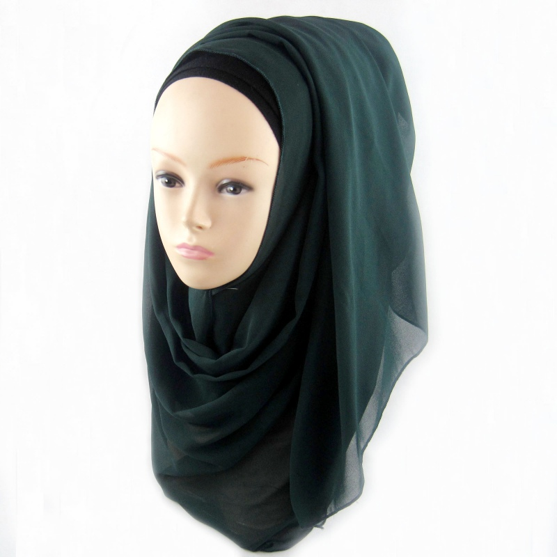 11 Colors Muslim Hijab Wrap Shawls Women Lady Headwear Amira Islamic Long Scarf TP03(China (Mainland))