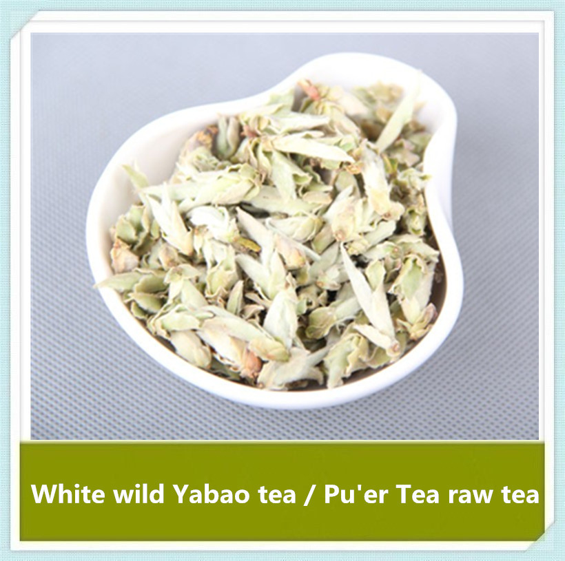 250g (8.8 oz)White wild Yabao tea / Pu'er Tea raw tea,With weight loss cosmetic effect, by the broad masses of women love.(China (Mainland))