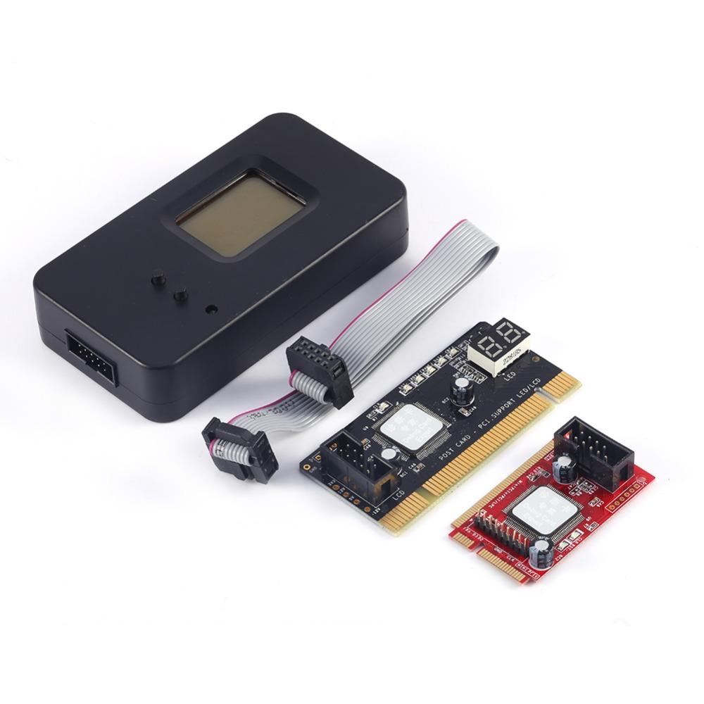 NEWEST Mini PCI-E PC PCI Diagnostic Test Tester PC Debug Post Card for Laptop and Desktop<br><br>Aliexpress
