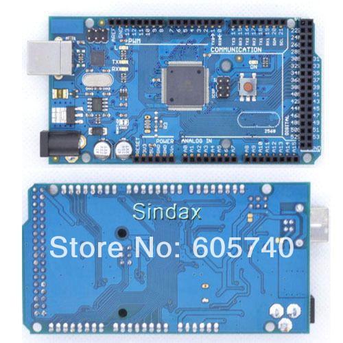 ATmega2560-16AU Board + USB Cable for Ar Development Board