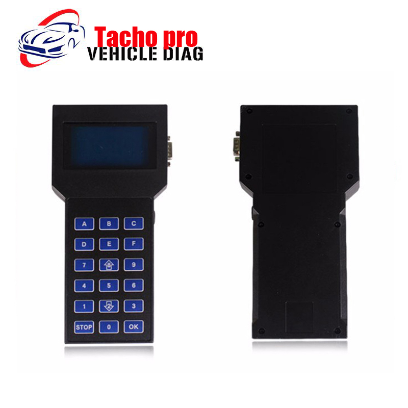 Hot Sale Tacho Pro 2008 July Unlocked Versionl Odometer Programmer OBD2 Auto Code Scanner Code Reader Promotion DHL Free(China (Mainland))