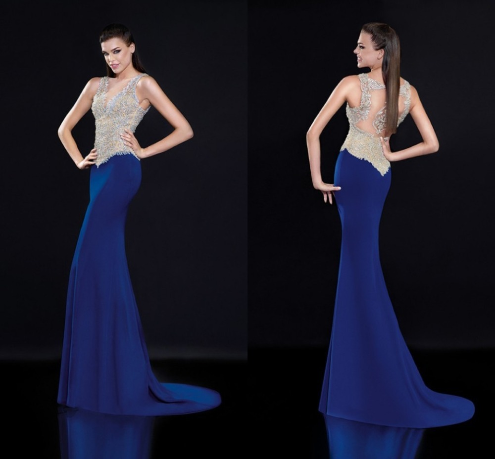 Вечернее платье Evening Dresses Royal Blue v Evening Gowns