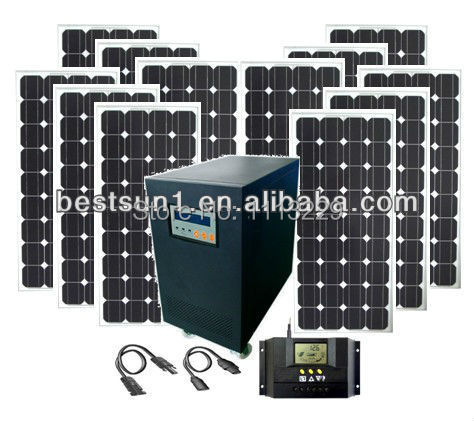 solar energy product High-end products 10KW Solar system manufacturer,10kva solar panel kits,10000w solar off grid home system(China (Mainland))