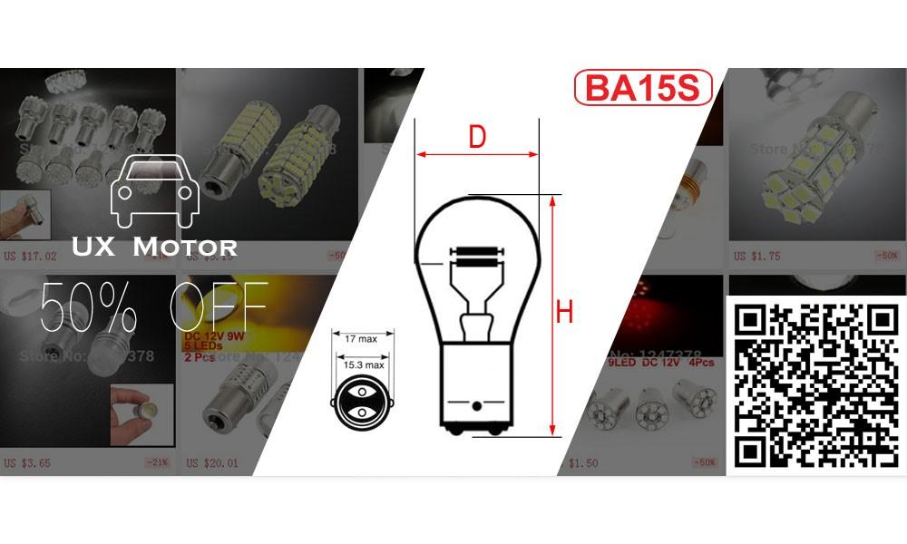 UX Motor BA15S