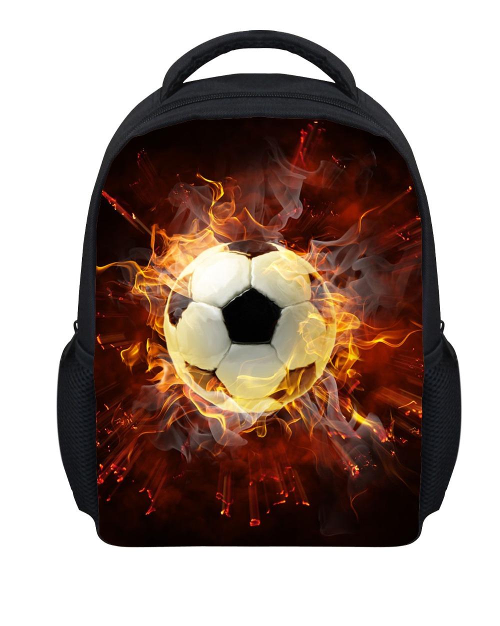 Cool Soccer Sport Boys Bags Mini Children School Bags Orthopedic Fashion Football Printing Kindergarten Kids Schoolbags Mochila(China (Mainland))