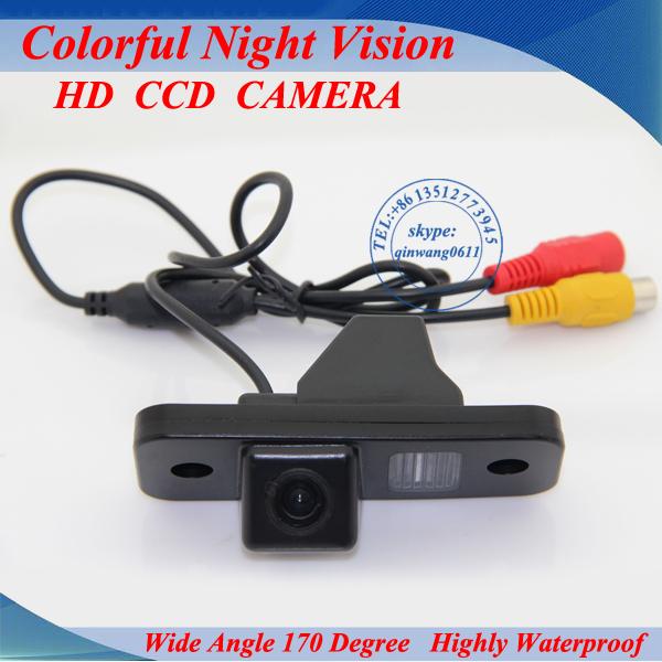 Free shipping color CCD Car Reverse Rear View backup Camera parking rearview For Hyundai SANTA FE Santafe 06-10(China (Mainland))