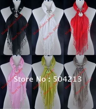 """NEW ARRIVAL!!-Most soft """"Dream yarn"""" shawl,14colors+mixed pendants, Resin pendant scarves, triangle pashmina+EMS FREE SHIPPING"""