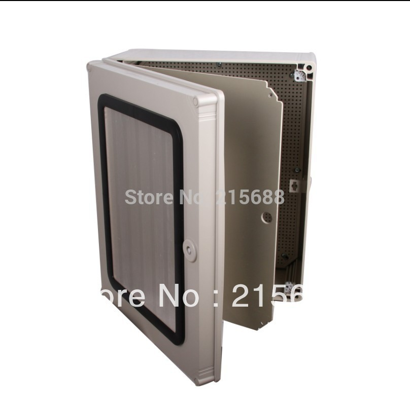 Saipwell PC plastic box hinged lid container metal enclosure watertight distribution box power supply 500*400*190mm SP-AG-504019(China (Mainland))