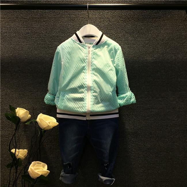 2015 New Fashion Childrens Kids Girls Winter (5 Size /Lot) Korean Zipper Cardigan Jacket