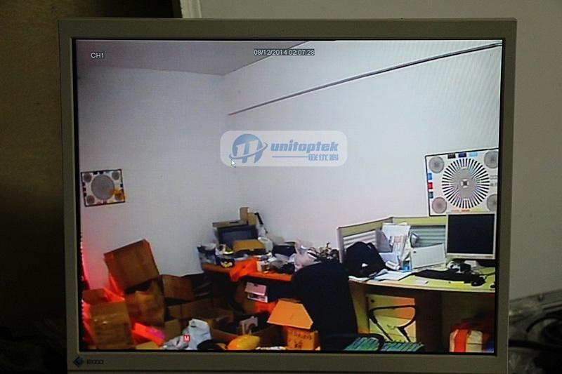 "1//4/"" 550TVL CMOS 3.6MM Door Hole Eye Camera Doorview Security Mini Camera 480P"