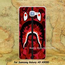 tumblr bape hoodie red Design hard transparent clear Skin Cover Case Samsung Galaxy a3 a5 a7 a8 a9 - Komic store