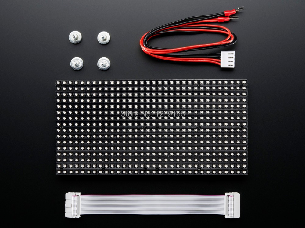 Leeman P6 ce rohs smd 3 led module - True RGB Ph10mm RGB SMD outdoor video wall led display panel signs board(China (Mainland))