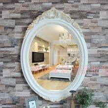Jiangsu, Zhejiang mirror bathroom mirror European retro upscale barber shop beauty salon mirror large mirror(China (Mainland))