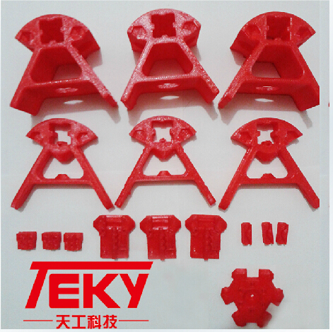 Reprap Kossel delta rostock 3 D printer parts printed parts PLA for 2020 aluminium profile free shipping(China (Mainland))