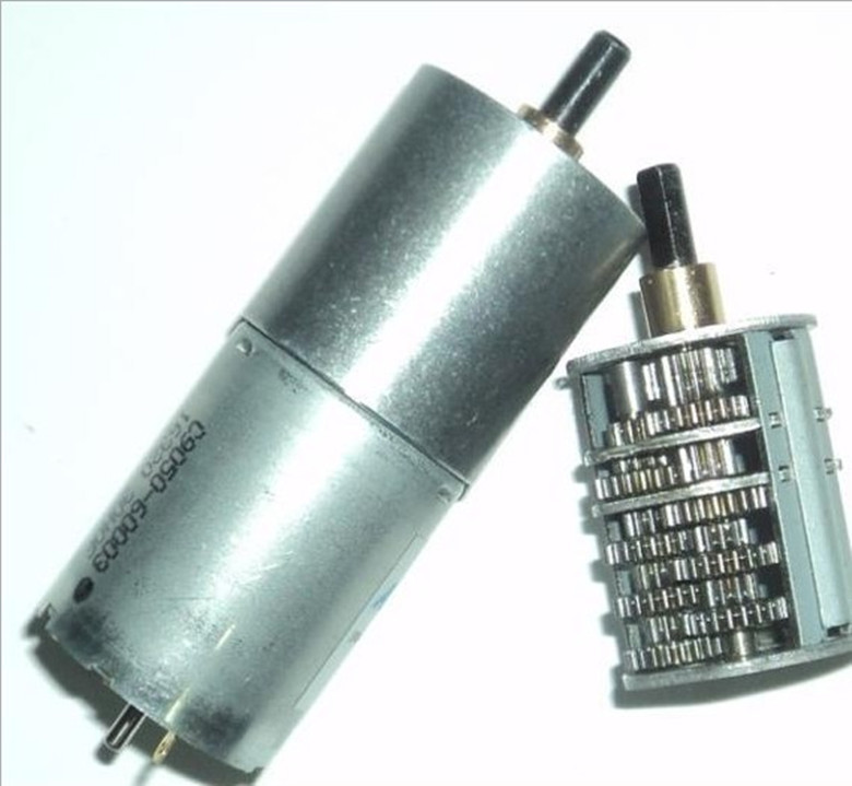 Buy gear motor dc motor ga25 370 12v dc for 12 volt high torque motor