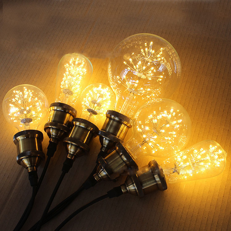 In Stock G80, G95, G125 3W E27 Retro Edison Bulb Led Bulbs Energy Saving Lights Environment Friendly Lamps Free Shipping LBB6(China (Mainland))