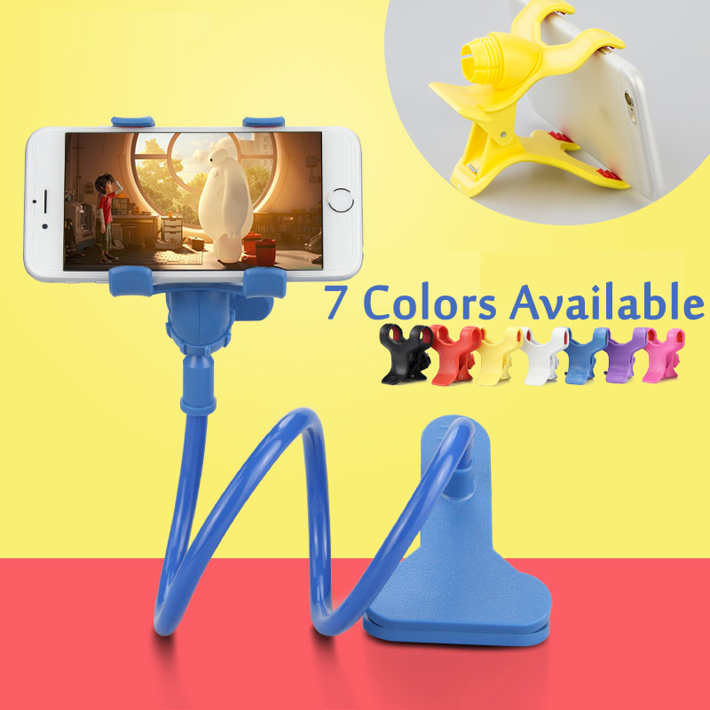 Wholesale 360 Rotating Flexible lazy bed desktop tablet car Long Arm holder stand selfie mount bracket for iPhone samsung XiaoMi(China (Mainland))