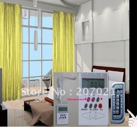 Window Width 1 Meter Diy Motorized Curtains Intelligent