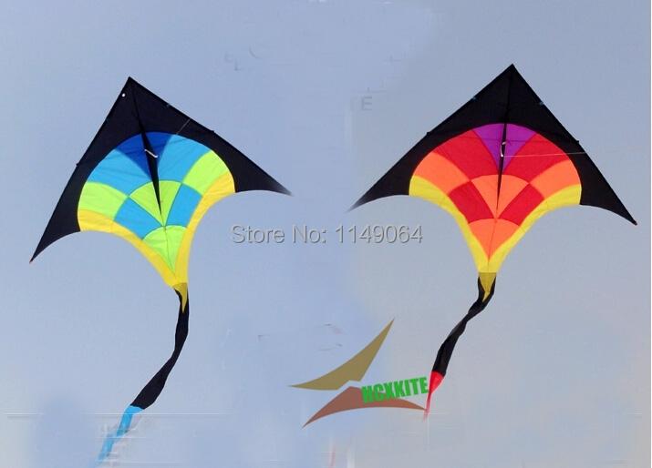 free shipping high quality 4.2m diamond delta kite with handle line easy control hcxkite factory bolsa hello kitty fox bag(China (Mainland))