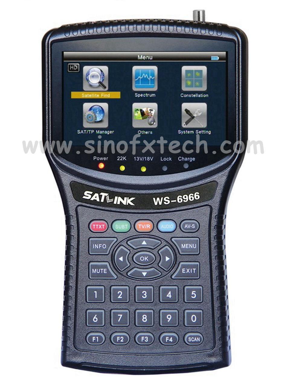 SATLINK WS6966 DVBS2