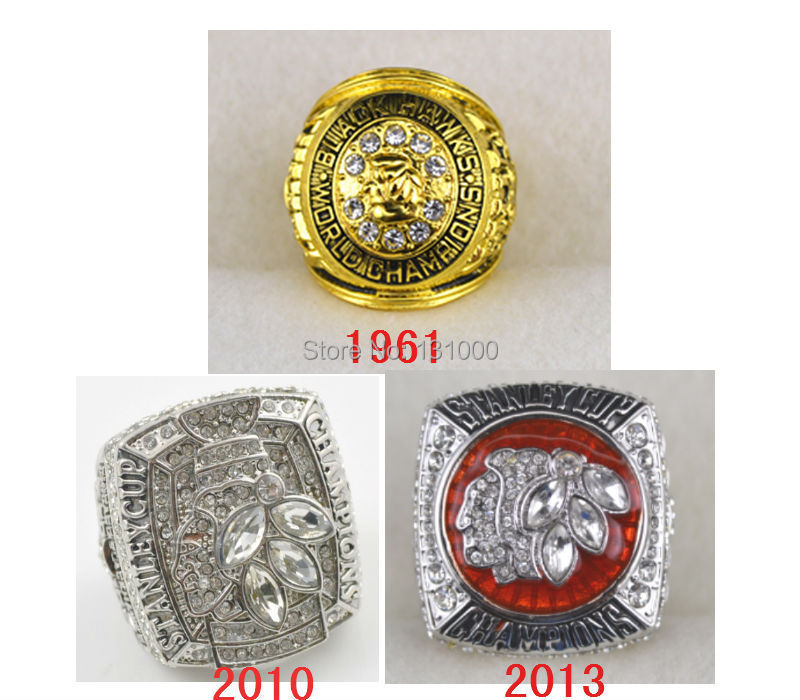 1961 2010 2013 Stanley Cup