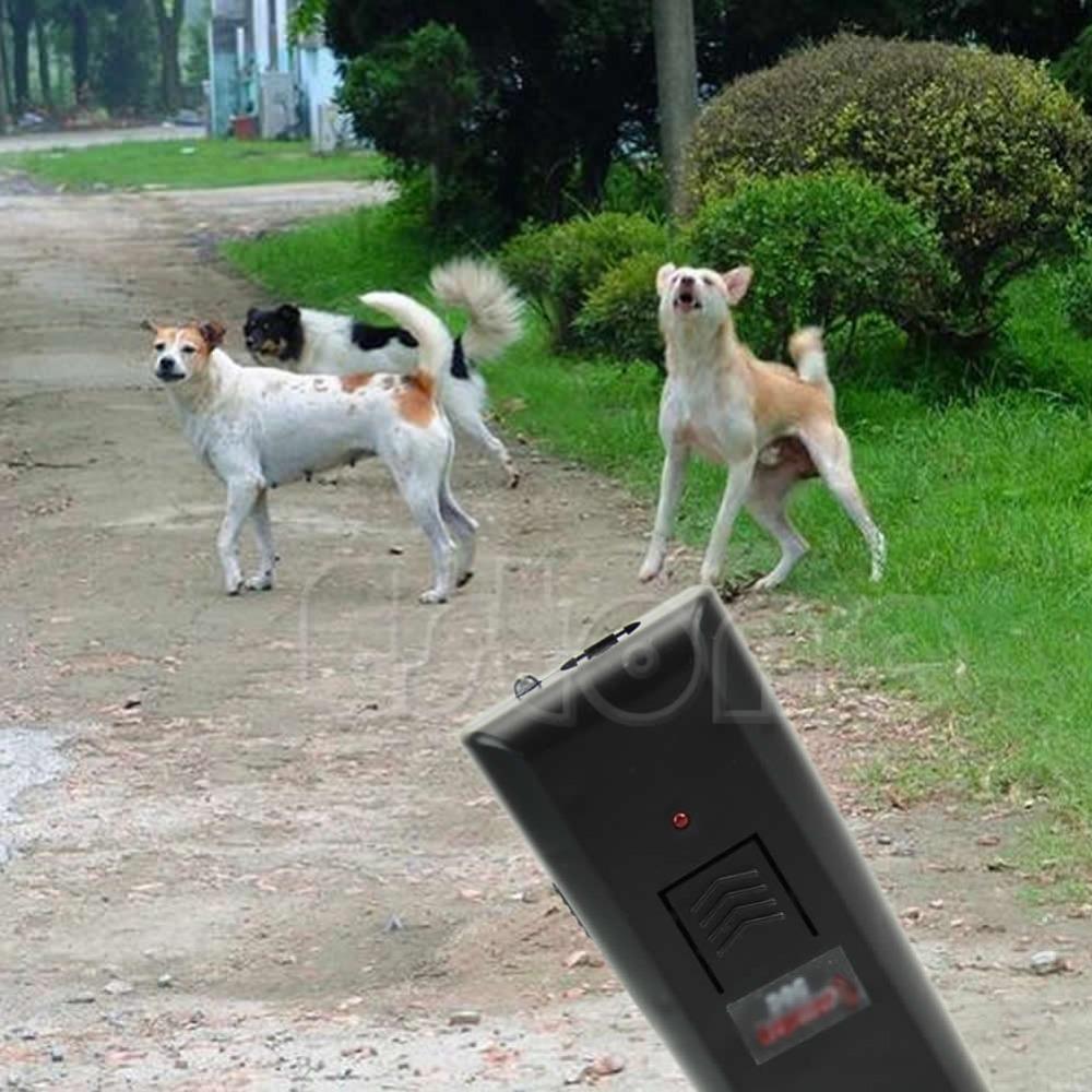 New 1PC Ultrasonic Aggressive Dog Pet Repeller Anti-Bark Barking Stopper Deterrent Train Free shipping(China (Mainland))