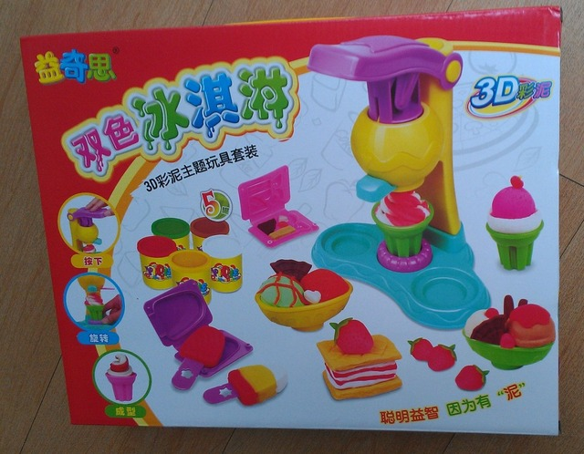 wholesales and retails playdough Child puzzle plasticine toy color clay toiletry kit sam Drop shipping