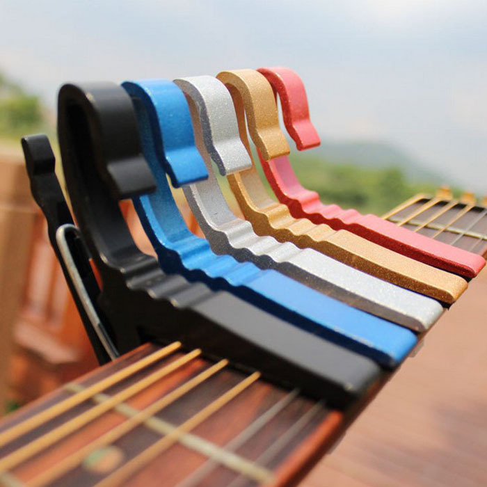 2015 new arrival Folk Acoustic Electric Tune Quick Change Trigger Guitar Capo Key Clamp Wholesale(China (Mainland))