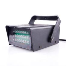 New Mini 24 LED DJ Disco Club Party Stage Lighting Effect Flash Strobe Light 220V 3W HITM#47627(China (Mainland))