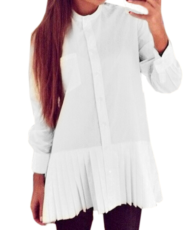 Белые Блузки 2015 С Доставкой