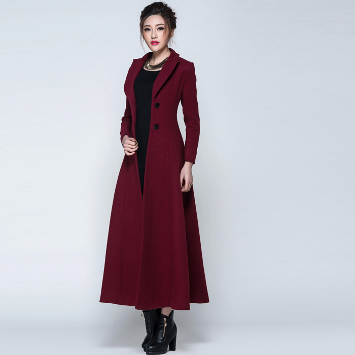 Long Winter Coats For Ladies